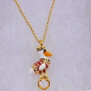 Kate Spade Zircon Enamel Pelican Necklace